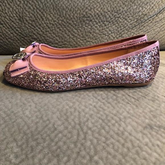 bef109b1b9d7 kate spade Shoes - Kate Spade Fontana Too Glitter Ballet Flats NEW